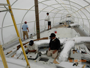 Yacht restoration, sailboat refit, custom yachts, yacht construction